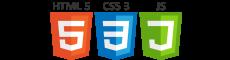 HTML5, CSS3, JS