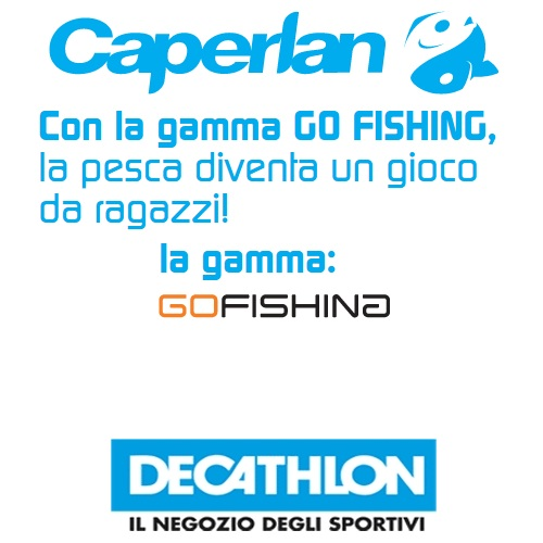 Portfolio Ingematic - Caperlan - Promotional Marketing per gamma Go Fishing 2009