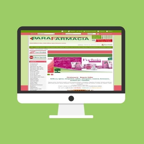 Portfolio Ingematic - Cliente Parafarmacia Tempesta - Anteprima Sito Web Ecommerce