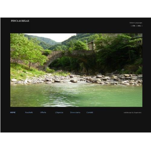 Portfolio Ingematic - Cliente Pesca & Relax - Anteprima Sito Web Ecommerce