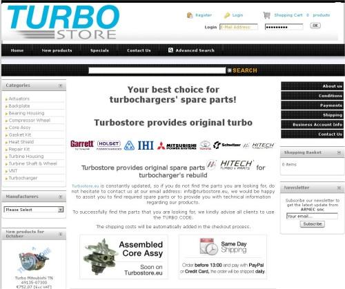 Portfolio Ingematic - Cliente Armec - Anteprima Sito Web Ecommerce