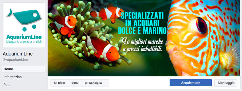 Social Media Marketing - Gestione Pagina Facebook AqLine