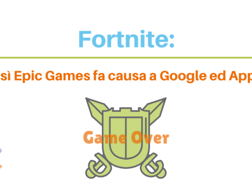Fortnite: così Epic Games fa causa a Google ed Apple