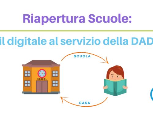 Riapertura scuole: il digitale al servizio della DAD