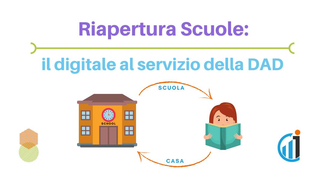 Riapertura Scuole - Il digitale al servizio della DAD - Digital News - Blog Ingematic