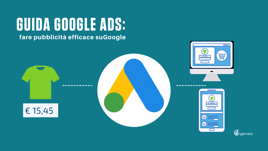 Guida Google Ads - Pubblicita Efficace su Google - Advertising - vBlog Ingematic